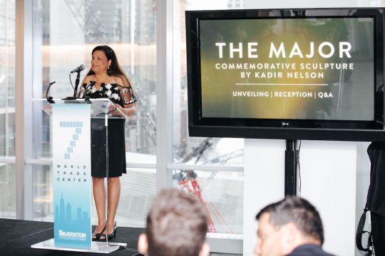 5.15.19 KadirNelson theMAJOR 75 540x360 - World Trade Center Unveils First Public Artwork by Artist Kadir Nelson x Hennessy @KadirNelson @OneWTC @HennessyUS #MarshallMajorTaylor