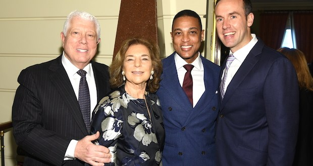 Dennis Basso Marion Waxman Don Lemon Tim Malone - 6th Annual Collaborating For A Cure Ladies Luncheon To Benefit Cancer Research @donlemon @waxmancancer @lawlormedia