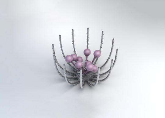 Sea urchin lrg 540x386 - Zac Posen x @GEAdditive x @Protolabs unveil breathtaking #3Dprinting collaboration at the #MetGala2019 @Zac_Posen #ZPLovesTech