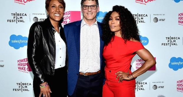 ab5 - Salesforce & Tribeca Film Festival Present: Make Change: Storytelling As A Platform For Change @RobinRoberts @ImAngelaBassett @SalesForce @bradleylbar @tribeca #Tribeca2019