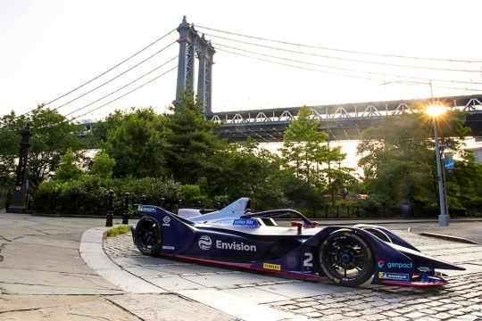 BD9I1151 1 540x360 - Formula E returns to New York City! #NYCEPrix @FIAformulaE @JeanEricVergne @sambirdracing @LucasdiGrassi @mitchevans_ @osergiojimenez @BryanSellers #NYCEPrix #Brooklyn