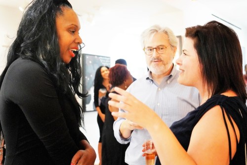 photos by Stella Magloire 106 1 - Event Recap: Danny Simmons Alone Together Private Reception at George Billis Gallery @ogilvy @rush_art @miolowinegroup_ #ShinjuWhisky #AloneTogether