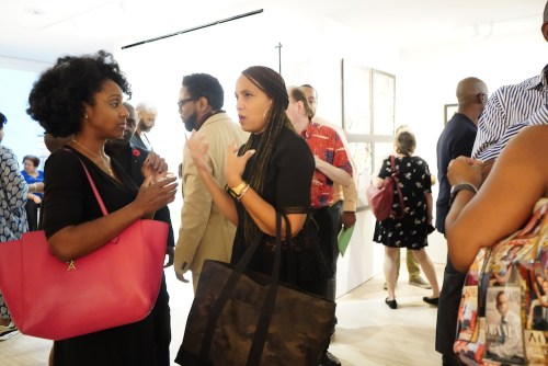 photos by Stella Magloire 241 - Event Recap: Danny Simmons Alone Together Private Reception at George Billis Gallery @ogilvy @rush_art @miolowinegroup_ #ShinjuWhisky #AloneTogether