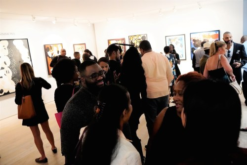 photos by Stella Magloire 248 - Event Recap: Danny Simmons Alone Together Private Reception at George Billis Gallery @ogilvy @rush_art @miolowinegroup_ #ShinjuWhisky #AloneTogether