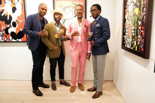 photos by Stella Magloire 296 540x360 - Event Recap: Danny Simmons Alone Together Private Reception at George Billis Gallery @ogilvy @rush_art @miolowinegroup_ #ShinjuWhisky #AloneTogether