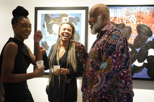 photos by Stella Magloire 301 540x360 - Event Recap: Danny Simmons Alone Together Private Reception at George Billis Gallery @ogilvy @rush_art @miolowinegroup_ #ShinjuWhisky #AloneTogether