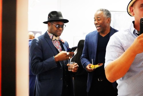 photos by Stella Magloire 38 2 - Event Recap: Danny Simmons Alone Together Private Reception at George Billis Gallery @ogilvy @rush_art @miolowinegroup_ #ShinjuWhisky #AloneTogether
