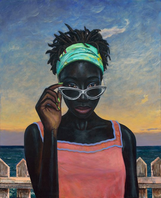 who told you that 52 x 42 540x664 - Mark Beck - American Narratives Exhibition October 1 - November 2, 2019 at George Billis Gallery