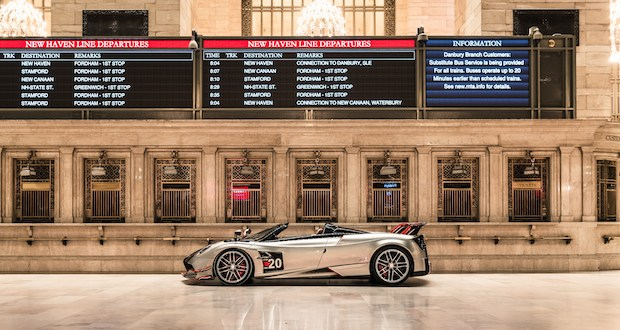 2020 Pagani Huayra Roadster BC Zach Brehl - Pagani: The Story of a Dream exhibit in Grand Central Station November 4 - 8, 2019 @OfficialPagani @Pirelli #pagani #TheStoryofaDream #grandcentral