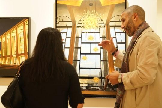 photos by Stella Maglore 193 540x360 - Event Recap: Karen Woods …Going Opening Reception at George Billis Gallery