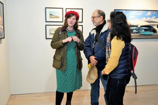 photos by Stella Maglore 36 1 540x360 - Event Recap: Karen Woods …Going Opening Reception at George Billis Gallery