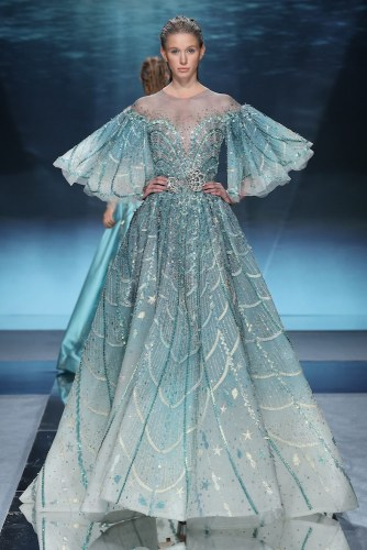200122 0508 Nakad - Ziad Nakad #Atlantis #ParisFashionWeek Spring Summer Couture Collection 2020 @ZiadNakadWorld