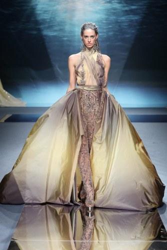 200122 1485 Nakad - Ziad Nakad #Atlantis #ParisFashionWeek Spring Summer Couture Collection 2020 @ZiadNakadWorld