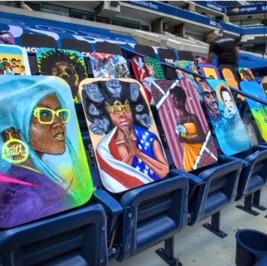Screenshot 20200908 182108 Instagram 540x538 - Black Lives To The Front: An original art exhibit at the 2020 US Open #blacklivesmatter @usopen