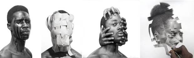 image0011 - Arinze Stanley: Paranormal Portraits Exhibition October 3 – November 7, 2020 at Corey Helford Gallery @Harinzeyart @coreyhelford