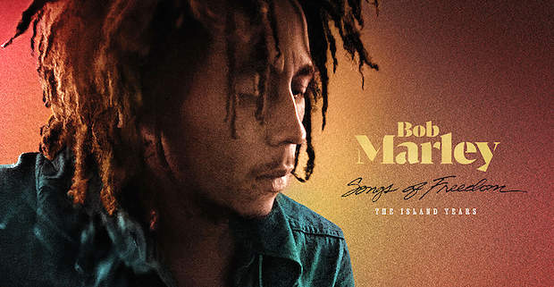 bm1 - Bob Marley-Songs of Freedom: The Island Years, 3CD and 6LP, limited-edition set on colored vinyl to be re-released worldwide. #BobMarley75