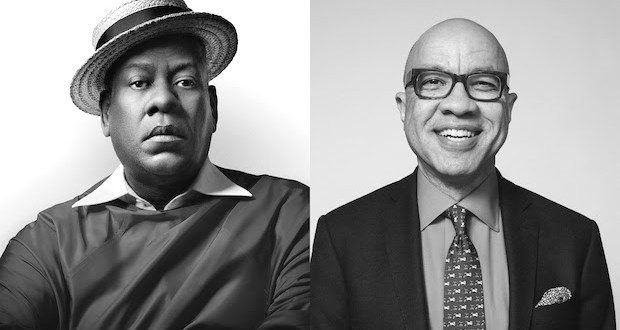unnamed - André Leon Talley and Darren Walker at Museum of Arts & Design @madmuseum