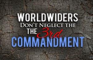Worldwide Church of God Third Commandment