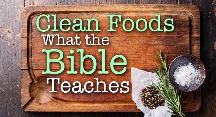 clean foods bible kosher