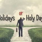 Holy Days in the Bible
