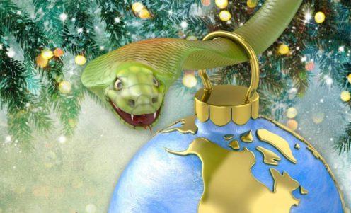 christmas-snake, pagan Christmas, is Christmas pagan,
