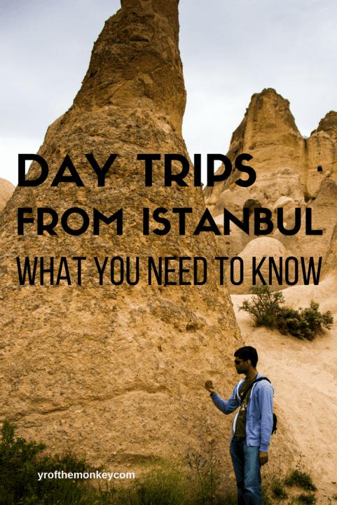 Day trips from Istanbul Cappadocia Turkey travel