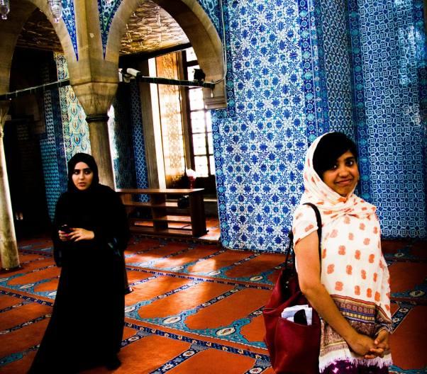 Turkey travel tips Rustom pasha mosque Istanbul