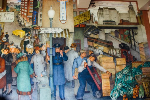 San Francisco murals are free attractions and perfect for those visiting San Francisco on a budget