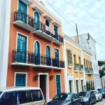 Old San Juan Puerto Rico Caribbean Island spanish architecture buildings home colonial style travel iphone photography colorful capital USA America US territory tropical