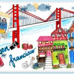 my sketchbook project friends collaboration Guest blogger sketch art painting San francisco Sinagpore blogger