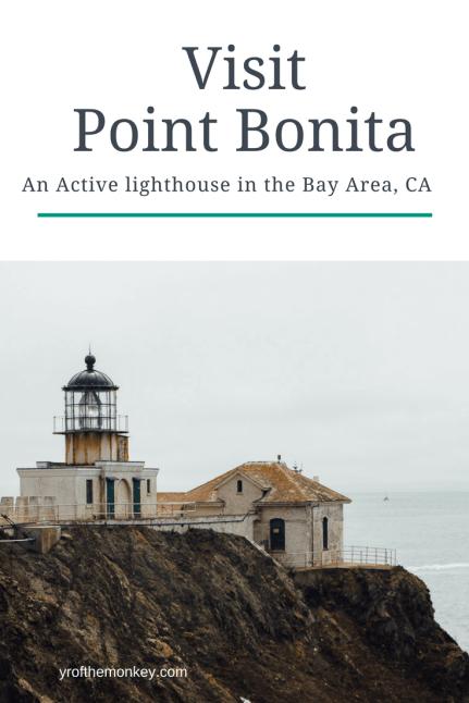 Point bonita lighthouse California Bay Area Travel