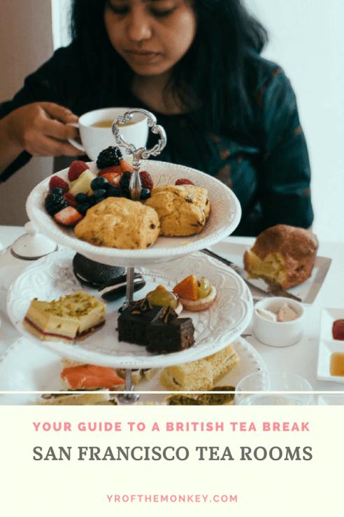 SF Tea rooms food tea lounge San Francisco