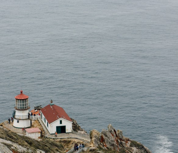 Pt. Reyes National Seashore Cabrillo Lighthouse travel California bay area Pacific ocean vacation explore
