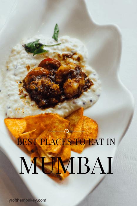 Mumbai Bollywood food guide travel India