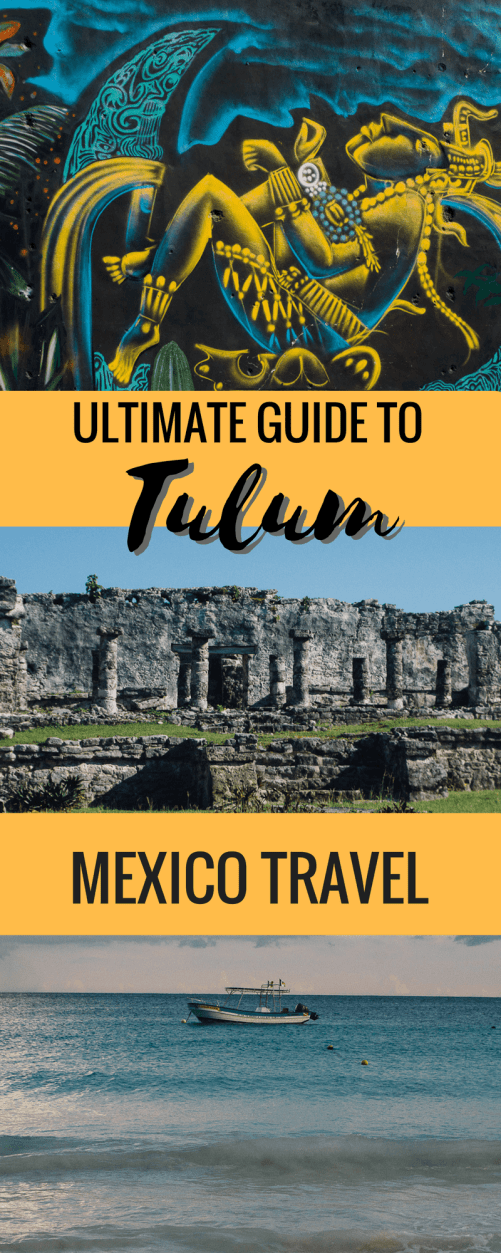 Explore Tulum, the gem of the Mayan Riviera, Yucatan Peninsula, Mexico with this handy guide that highlights the best attractions, beaches, Mayan ruins and of course the best local spots to eat and drink. Don't miss it!