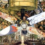 Diego Rivera mural art Mexico city travel