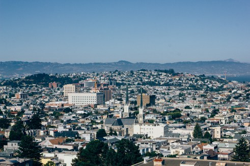 Billygoat Hill san Francisco lookout panoramic travel pets dogs city