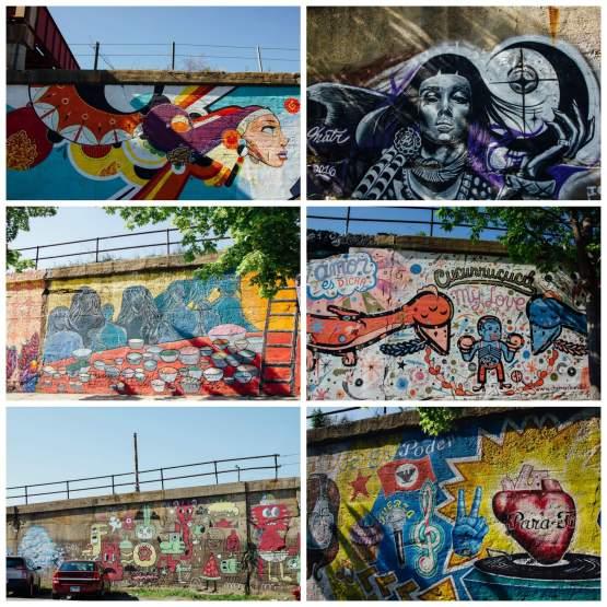 Chicago street art Murals Pilsen