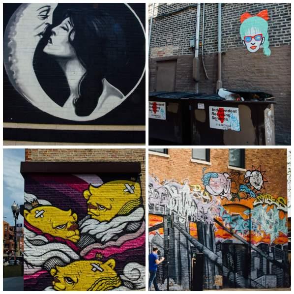 Chicago street art Murals Wicker Park