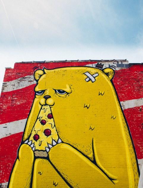 Chicago street art murals graffiti pilsen wicker park travel