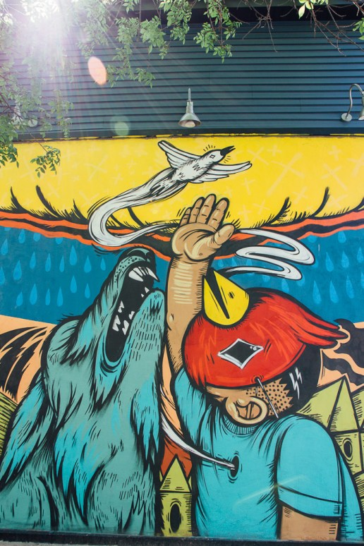 Chicago street art Murals Pilsen Wicker park