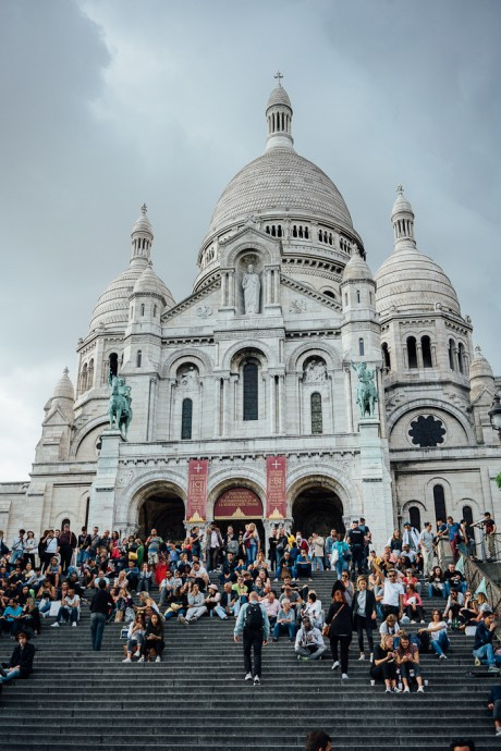 Sacre Coeur Basilica in Paris, what to do in Paris in one day