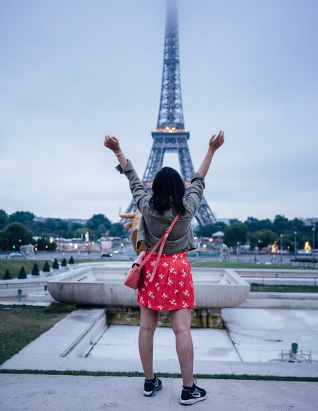 Paris arrondissements guide, Eiffel tower in the morning