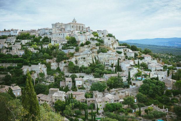 Gordes is one of the most popular villages in the Luberon region