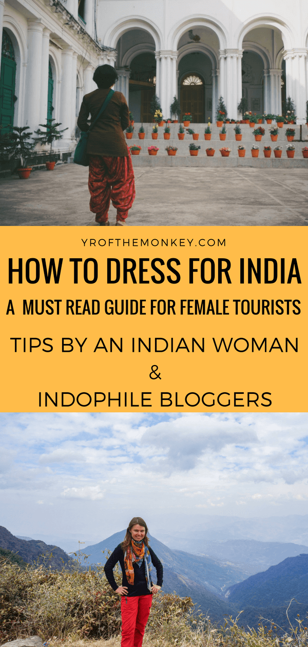 What to wear in India is a comprehensive guide for female travelers on how to dress in India. This post contains all the tips, suggestions and links on traditional Indian attire and everything else that you need to dress practically for India. Read this post to take out all the guesswork and pin it to your India or Asia board #india #indianclothes #indiandress #whattowearinindia #womensclothes