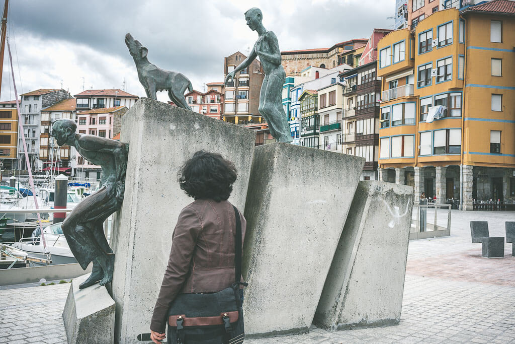 The fishing port of Barmeo should be on your Northern spain itinerary. A must visit stop on your Spain road trip from Bilbao to San Sebastian.