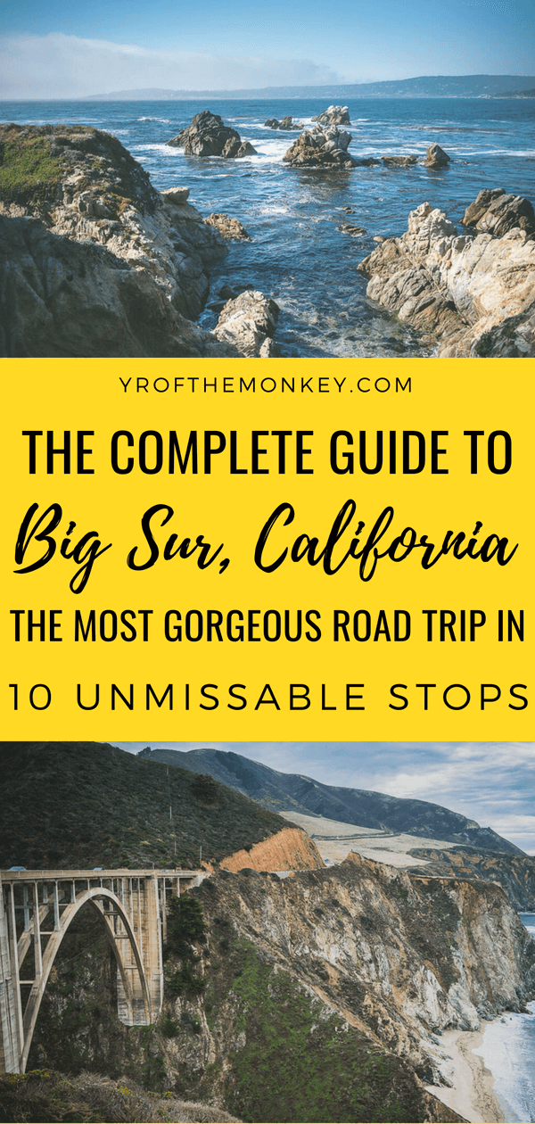 Big Sur road trip itinerary: 10 epic Pacific Coast Highway ...