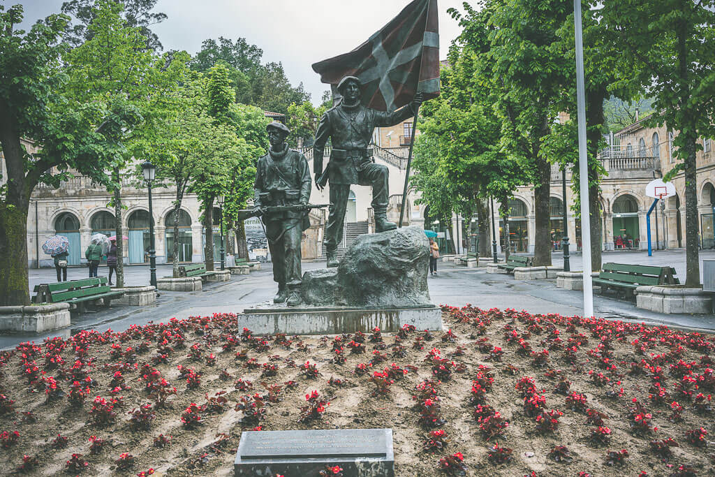 Guernica is a Basque town which you should visit on your northern Spain road trip from Bilbao to San Sebastian