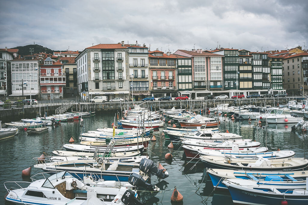 Lekeitio harbor side. Lekeitio is in Basque region of Spain. Another must visit place on your way from Bilbao to San Sebastian during your northern Spain road trip.