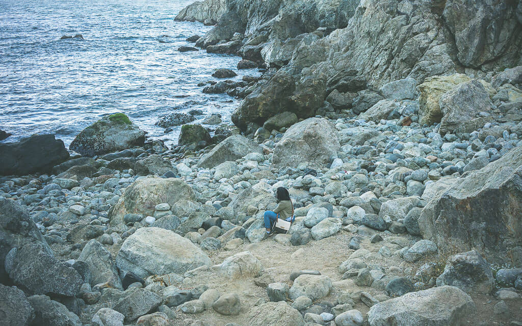 Partington cove in Big Sur as part of essential big Sur road trip stops